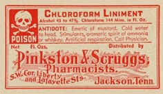 Chloroform liniment