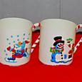 xmas mugs