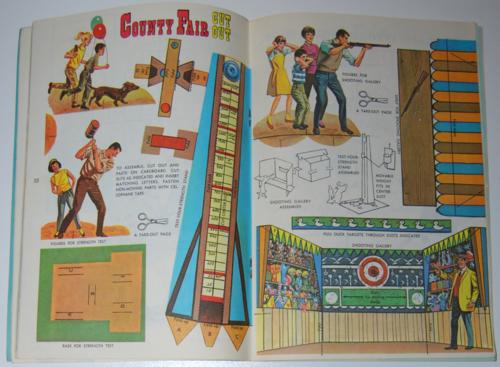 County fair cutout 1964 golden mag