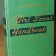 Girl scout handbookvintage