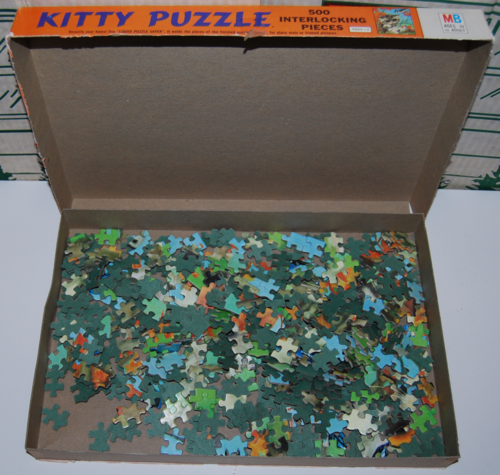 Kitty puzzle 1968 mb pieces