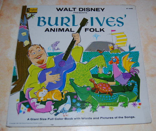 Burl ives animal folk songs