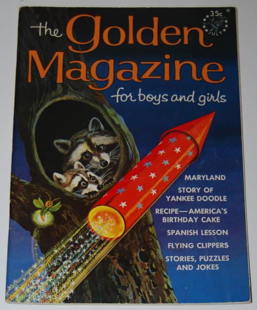Golden magazine  july 1965