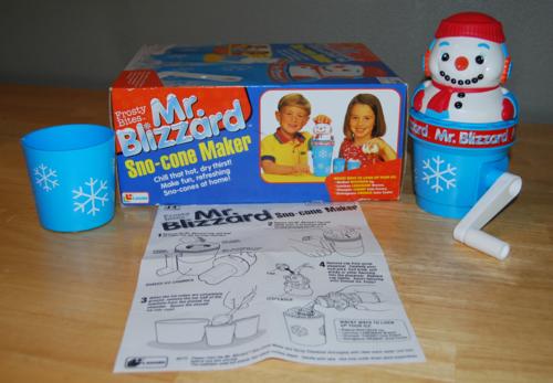 Mr blizzard side
