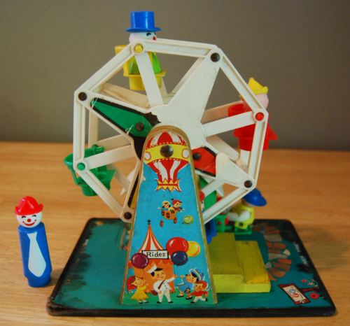 Fisher price ferris wheel side 2