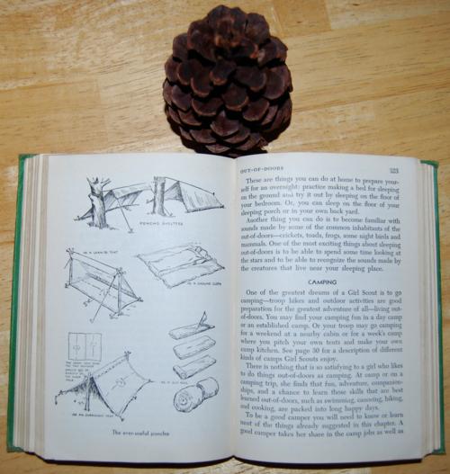 Girl scout handbook 1951 camp