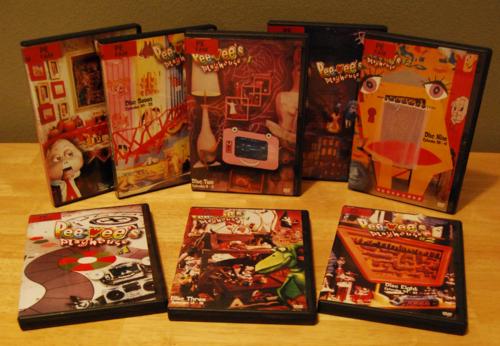 Peewee's playhouse dvds