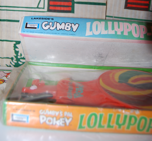 Lakeside gumby & pokey lollypopups mark