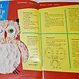 owl cut-up cake