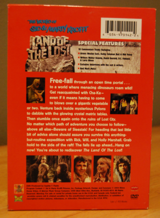 Land of the lost dvd back