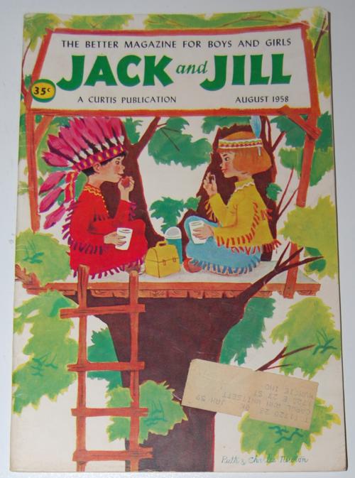 Jack and jill mag aug 1958