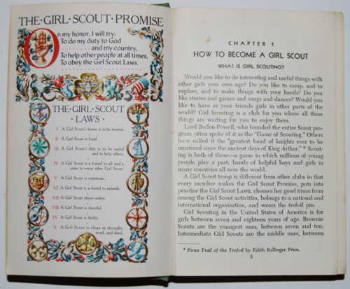 The girl scout promise