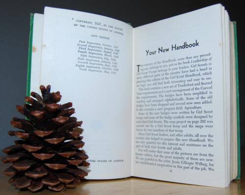Girl scout handbook 1951