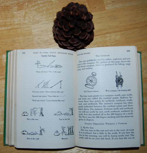Girl scout handbook 1951 trail