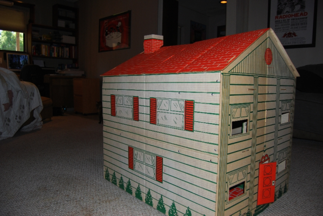 flashback friday favorite ~ vintage giant playhouse