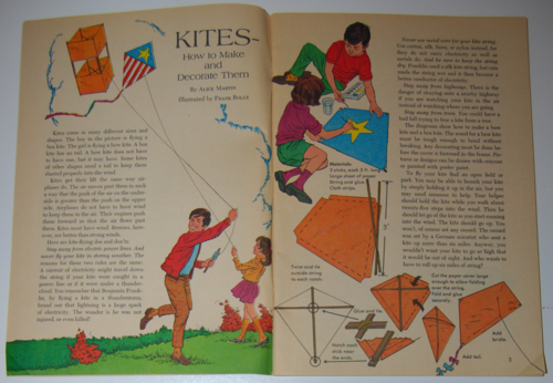 Golden special summer 1971 kites
