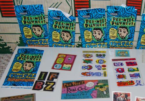 Pee wees playhouse fun pak cards