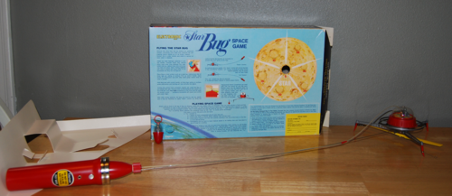 Star bug space game