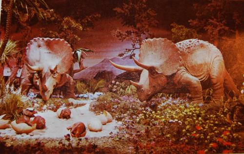 Vintage disneyland dinosaurs