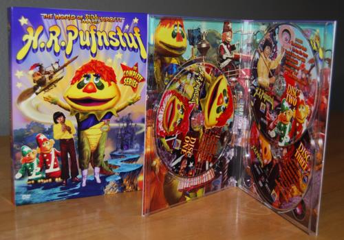 Hr pufnstuf series dvd