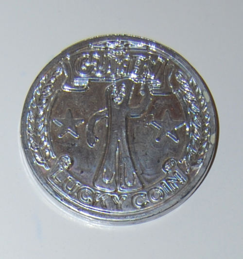 Lucky coin 1967 gumby
