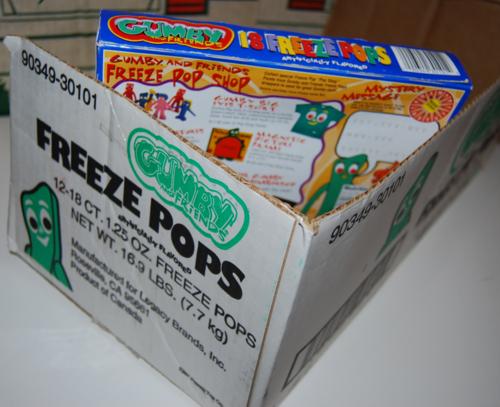 Gumby freeze pops 7