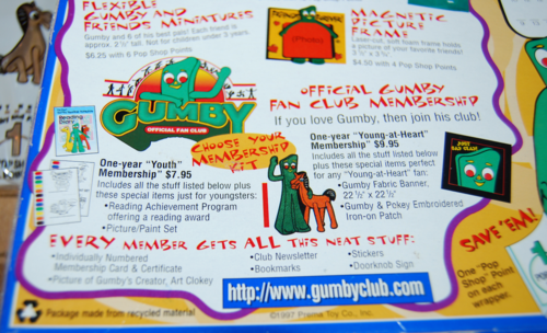 Gumby freeze pops 8