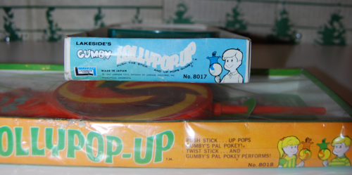 Lakeside gumby & pokey lollypopups mark end