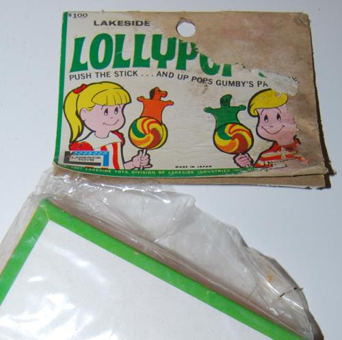 Lakeside pokey lollypopup box