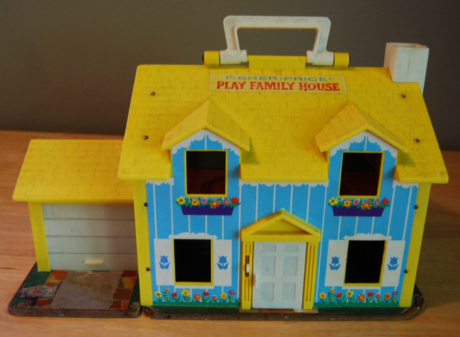 flashback friday favorite ~ fisher price little people house