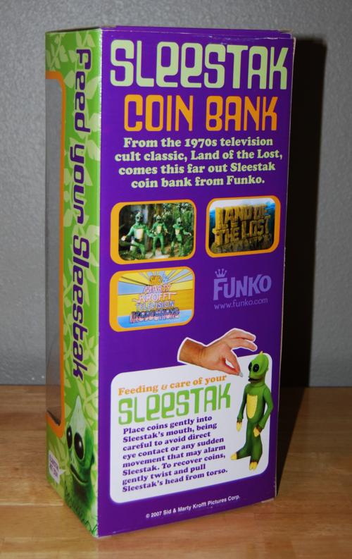 Sleestak coin bank 2