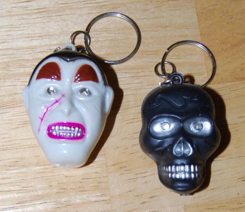 Halloween keychains 2