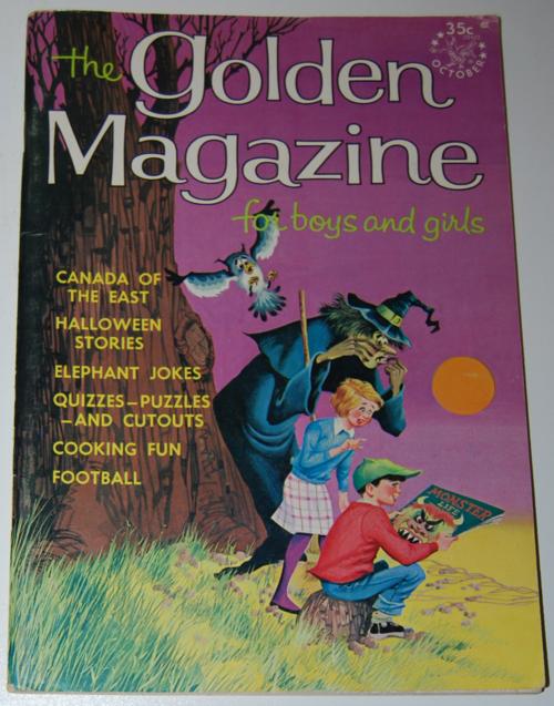 Golden magazine october 1965