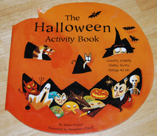 The halloween activity book 2002