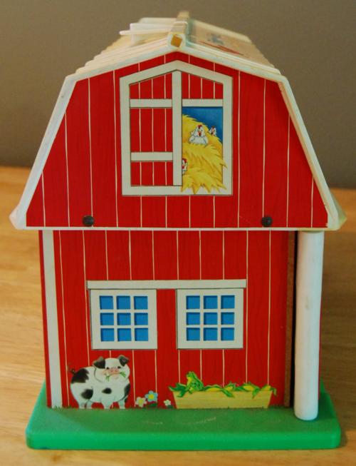 Fisher price barn side