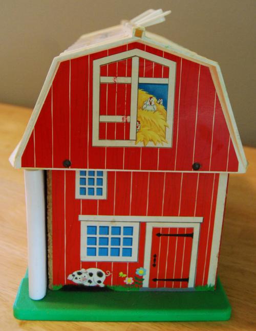 Fisher price barn side 2