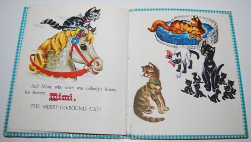 Mimi the merry go round cat 2