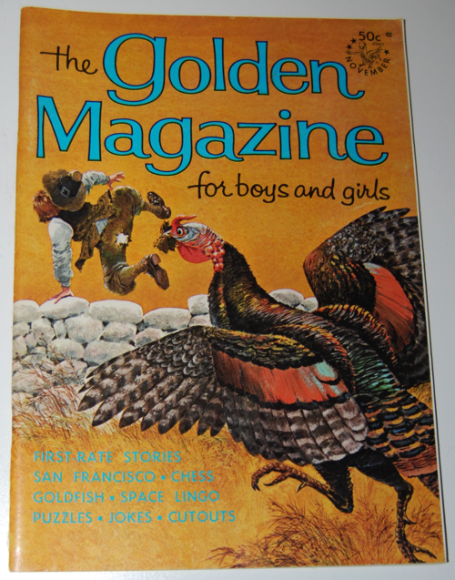 Golden magazine november 1966