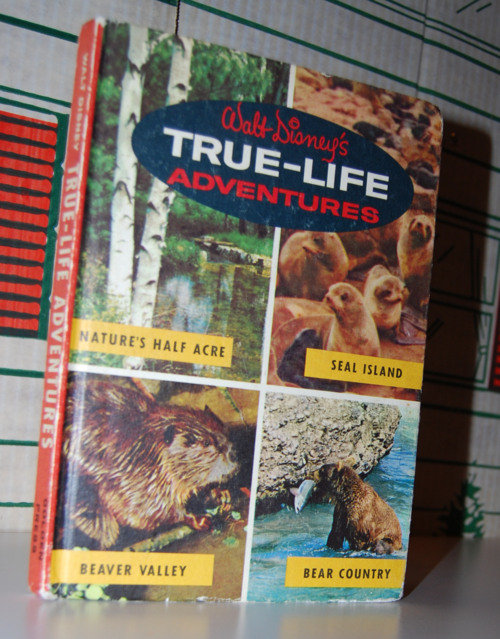 Walt disney's true life adventures book