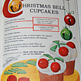 christmas bell cupcakes
