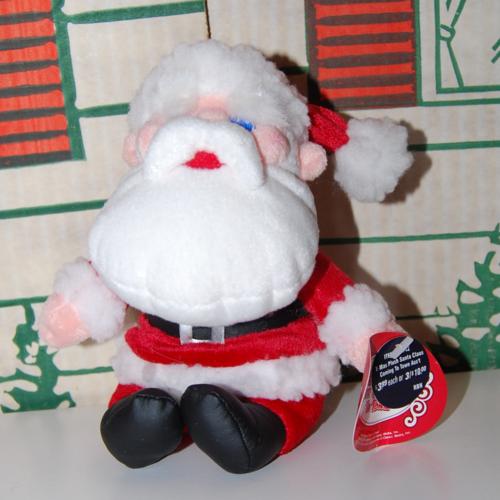 Rankin bass santa plush