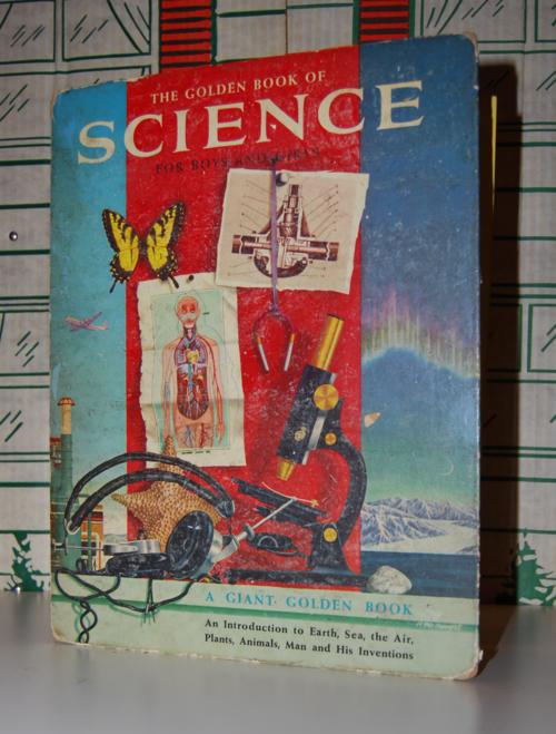 Golden book of science