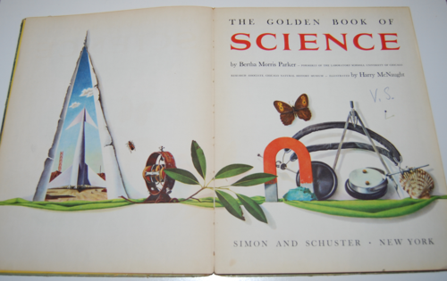 Golden book of science 2