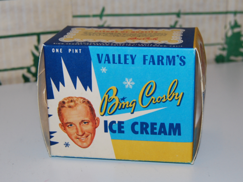 Bing crosby ice cream