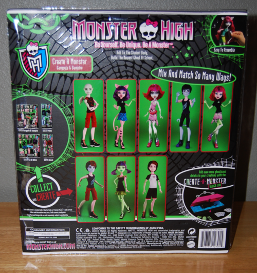 Monster high set back
