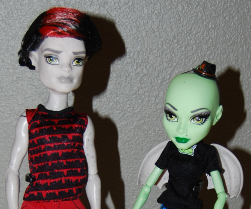 Monster high dolls 4