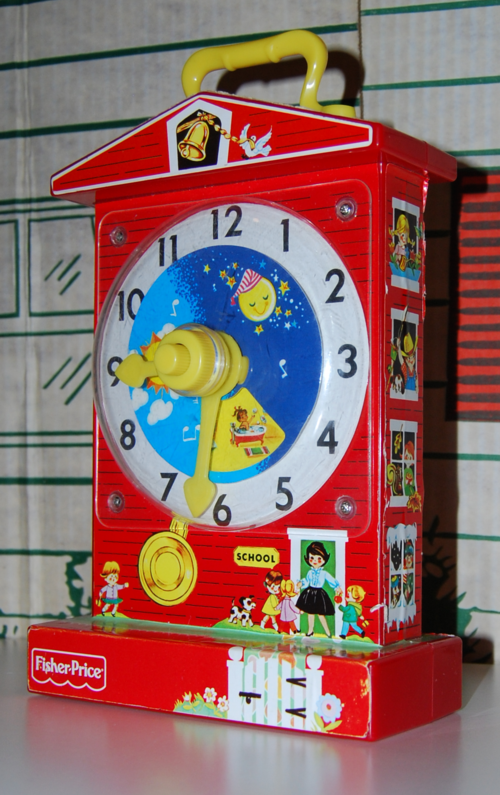 Fisher price musical clock 3