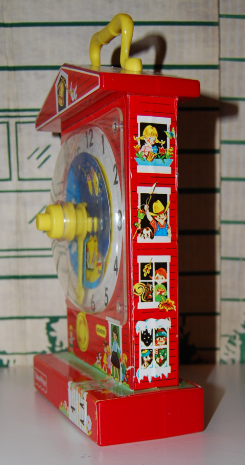 Fisher price musical clock 6