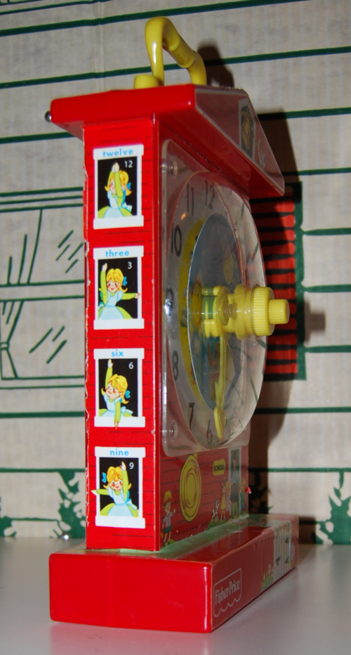 Fisher price musical clock 7