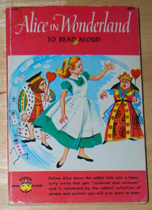 Wonder books alice in wonderland 1963
